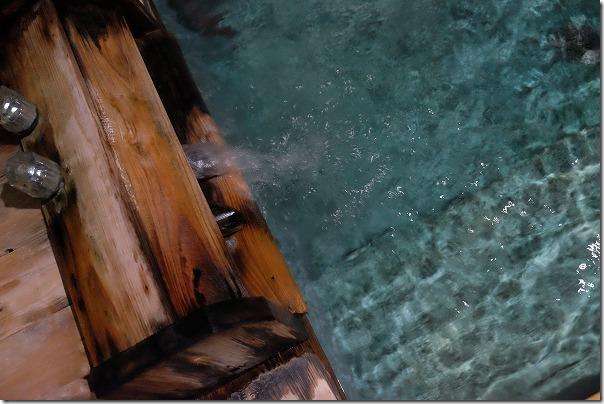 筑後川温泉,虹の湯の家族風呂の温泉