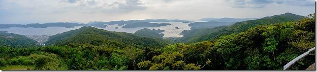 奄美大島、高知山展望台からの展望