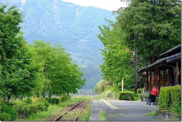 南阿蘇鉄道,長陽駅のホーム