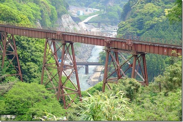 南阿蘇鉄道、立野鉄橋