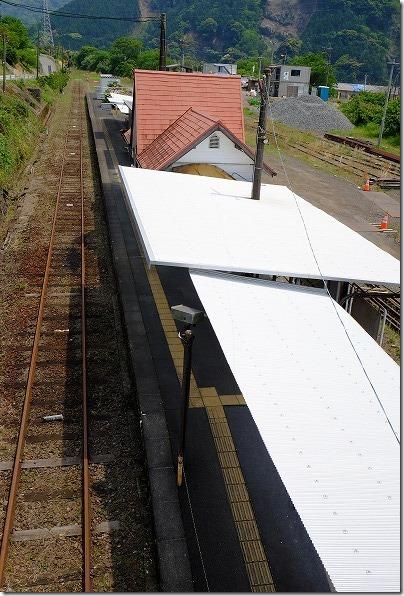 南阿蘇鉄道の立野駅