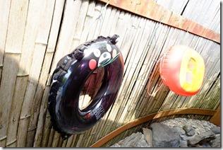 阿蘇,内牧温泉,湯巡追荘の家族風呂、浮輪