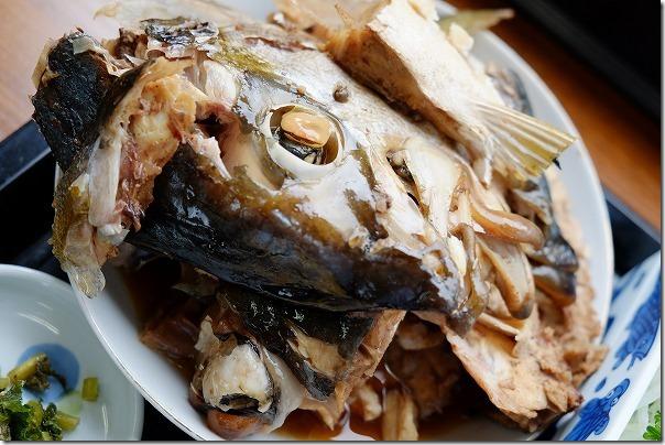 海の里食堂のあら煮定食