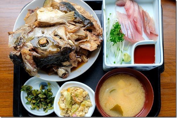 海の里食堂のあら煮定食、松浦