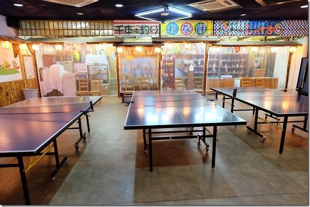 阿蘇内牧温泉,湯巡追荘で卓球