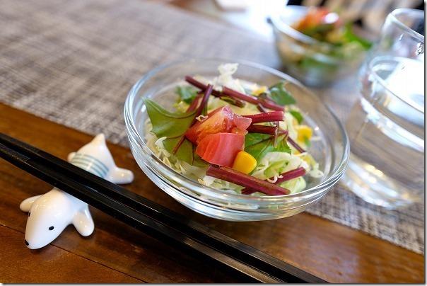 久留米、悠悠キッチンのサラダ