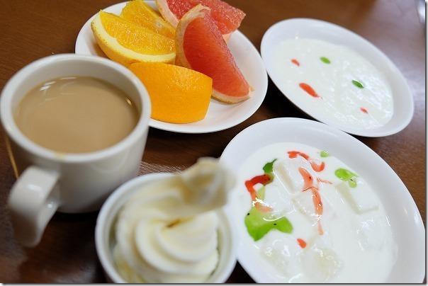 阿蘇内牧温泉,湯巡追荘,朝食,バイキング,デザート
