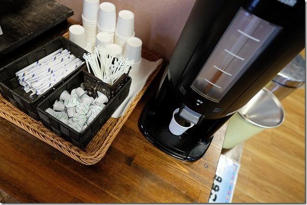湯巡追荘のコーヒー