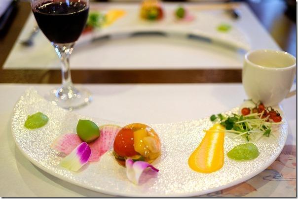 原鶴温泉、花水木の食事(夕食)、前菜