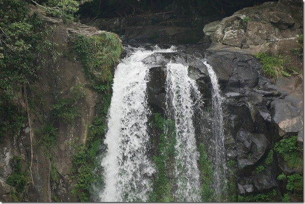 通潤橋近くにある五老ヶ滝(ごろうがたき)