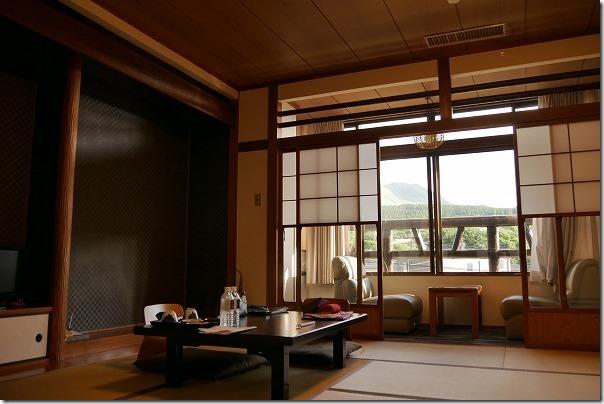 阿蘇の司ビラパークホテルの部屋
