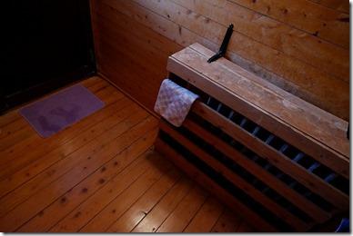 豊礼の湯の家族風呂の暖房