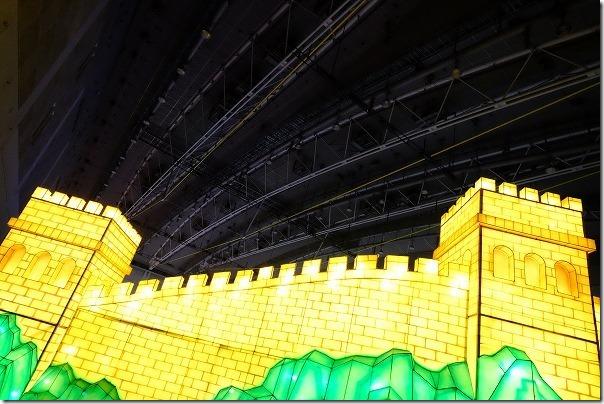 西日本総合展示場ランタンファンタジア,世界遺産の巨大ランタン