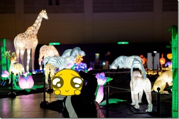西日本総合展示場ランタンファンタジア,動物ゾーン