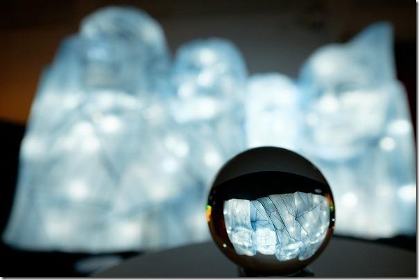 西日本総合展示場ランタンファンタジア,ガラス玉がきれい