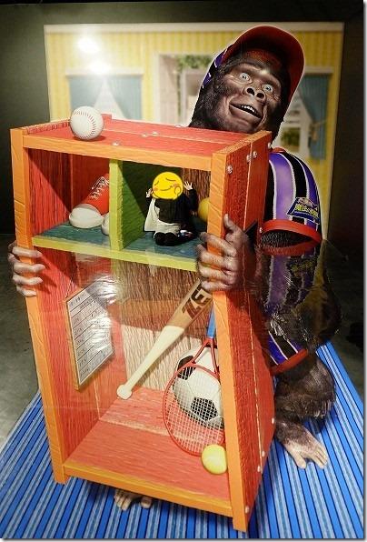 湯布院にあるトリック3Dアート湯布院,ゴリラ