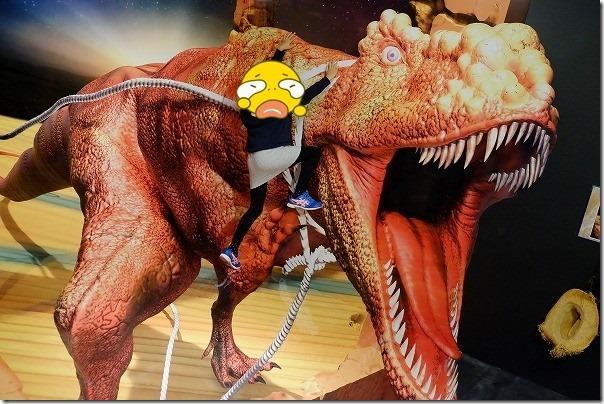 湯布院にあるトリック3Dアート湯布院,恐竜