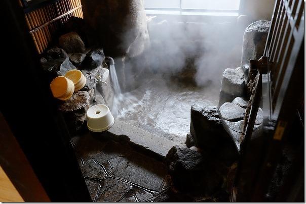 野田温泉の家族風呂(部屋・備え付け)