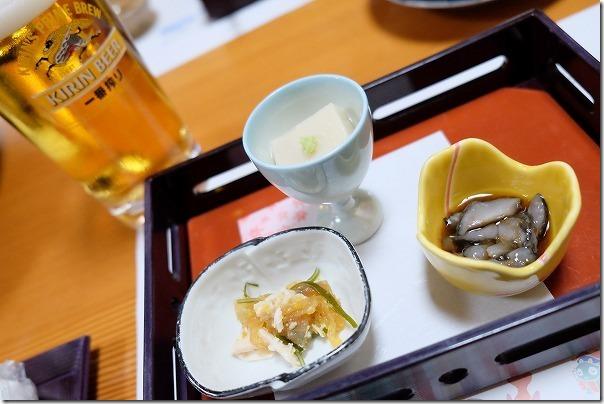 ホテル&リゾーツ 佐賀、唐津の夕食ナマコ