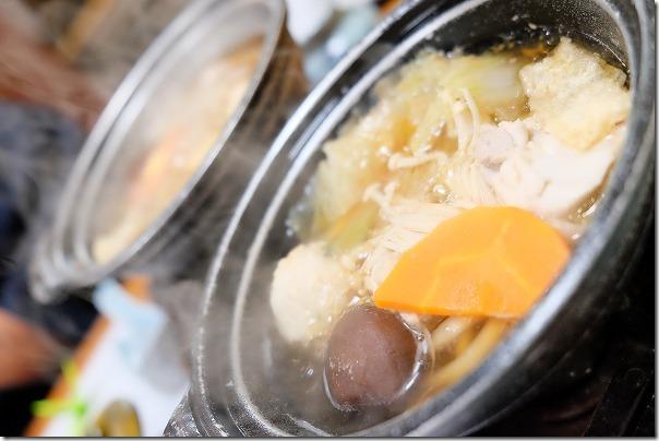 ホテル&リゾーツ 佐賀、唐津の夕食なべ