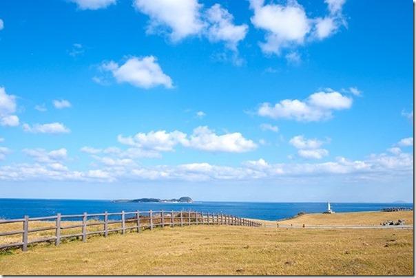 呼子、加部島展望台と灯台