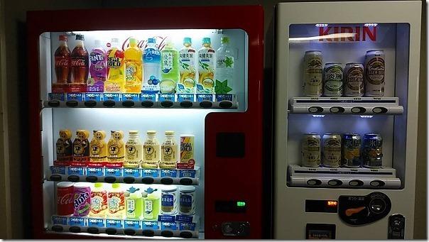 うさぎ島(大久野島)の国民休暇村からの自動販売機