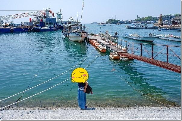 鞆の浦の港、ポニョのモデル