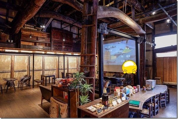 鞆の浦、カフェ茶屋蔵のギャラリー&カフェ