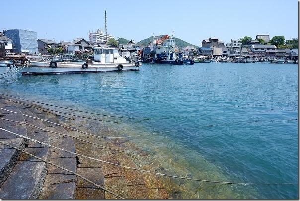 鞆の浦の港町