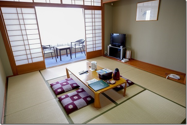 うさぎ島(大久野島)の国民休暇村の部屋