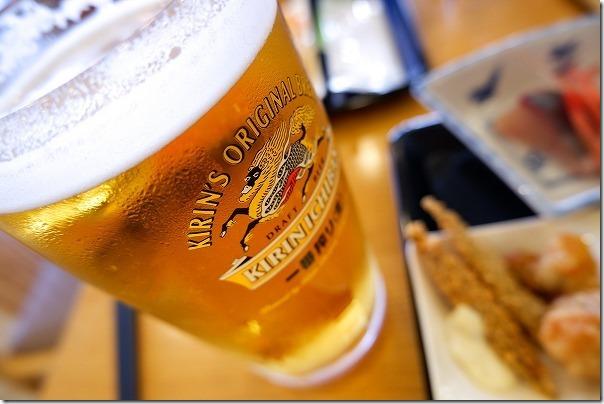 休暇村大久野島の生ビール