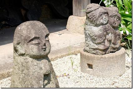 鞆の浦を散策、正法寺のお地蔵さん