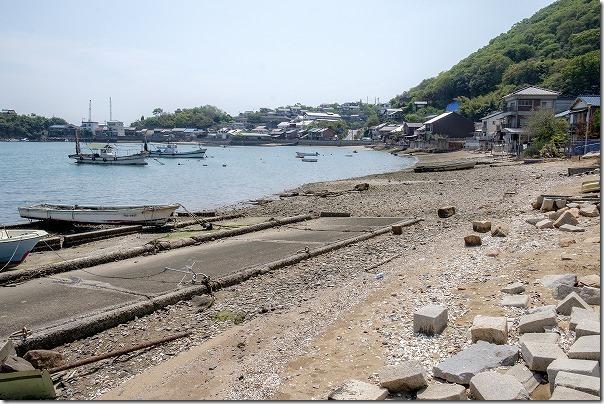 鞆の浦の海岸