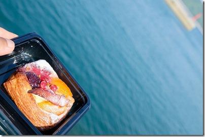 須波港近くのパン屋さん「ムカイ製パン」のデニュッシュ