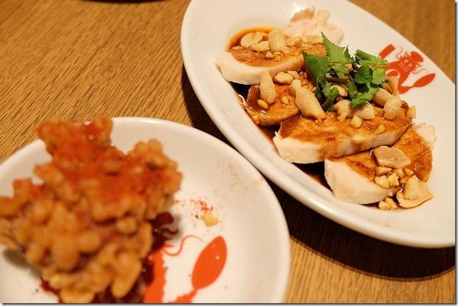 福岡市六本松の豆皿中華Q、よだれ鶏