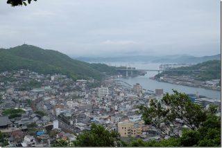 千光寺で岩登りと御朱印(尾道)