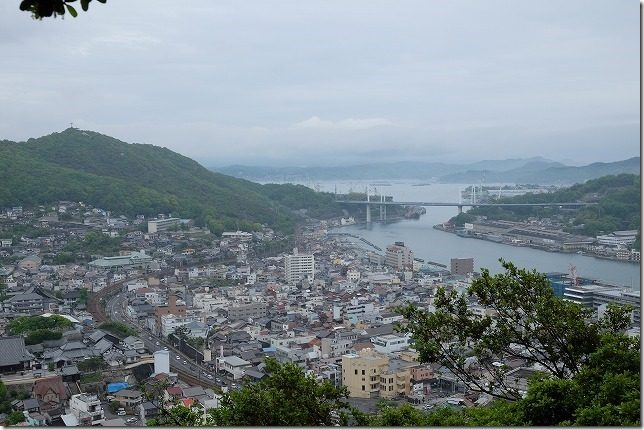 千光寺から尾道を展望