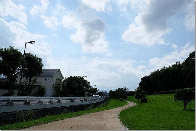 太宰府・大宰府政庁跡から西鉄・都府楼前駅までの道