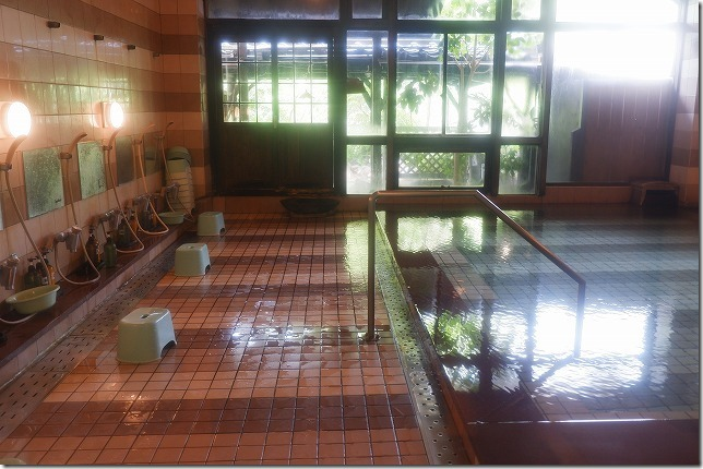 九重悠々亭の温泉