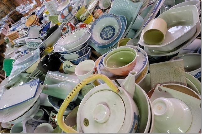 1万円コースの焼き物倉庫、有田焼、幸楽窯
