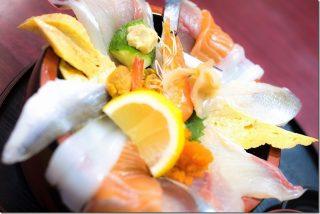 てっぺんで海鮮丼・刺身定食(長崎県西彼杵郡時津町)