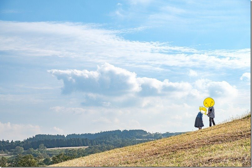 押戸石の丘を散策