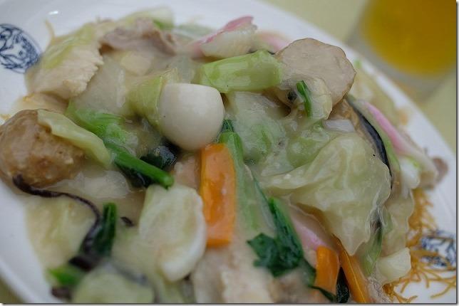 長崎中華街「中国料理館・会楽園」の皿うどん