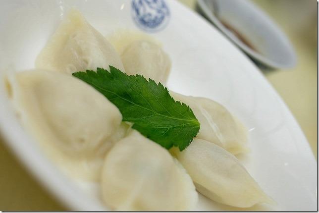 長崎中華街「中国料理館・会楽園」の水餃子