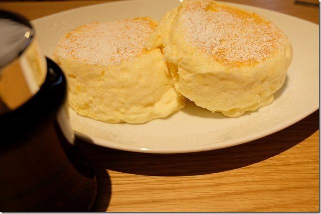 むさしの森珈琲のパンケーキ