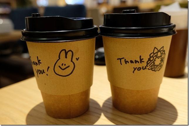 むさしの森珈琲でコーヒーをテイクアウト