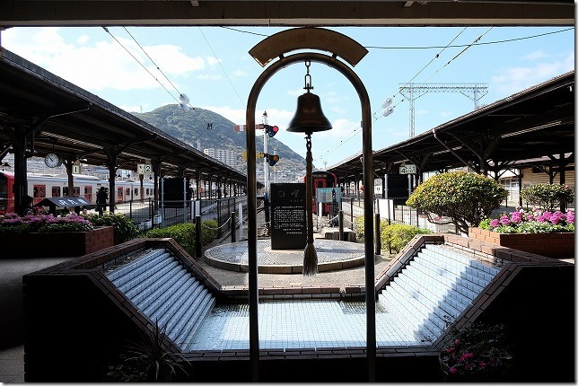 門司港駅の鐘