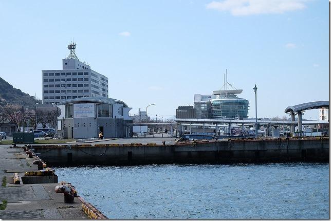 関門連絡船の門司港側