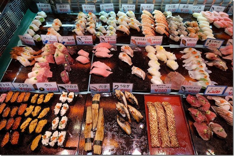唐戸市場、寿司