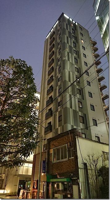 変なホテル東京 浜松町の外観・ビル